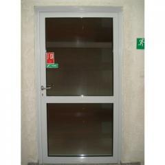 Aluminiowe drzwi przeciwpożarowe EI30 i EI60