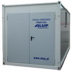 Kontenerowe stacje sprężonego powietrza ALUP