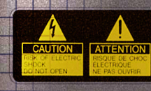 Labels for dangerous goods