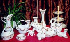 Serwisy z porcelany.