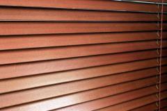 Żaluzje poziome drewniane 25 mm