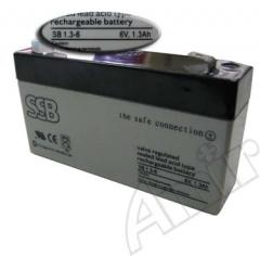 Akumulator AGM 6V 1,3Ah