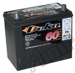 Akumulator Deka 60Ah 590A 551 RMF