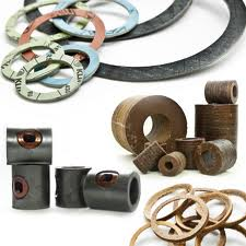 Rubber valves, membranes, rings, linings