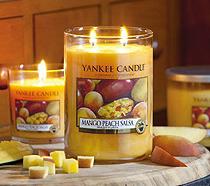 Świece zapachowe do aromaterapii Yankee Candle.