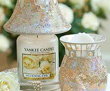 Świece zapachowe Yankee Candle do aromaterapii.