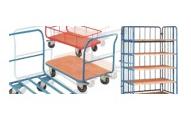 Metal hand trolleys