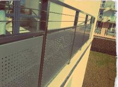 Balustrady do schodów metalowe