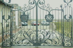 Brama pałacowa Kowal