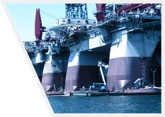 Wielkogabarytowe konstrukcje platform morskich ze