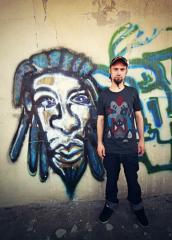 Demon by ZBIOK t-shirt męski black
