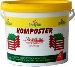 Nawóz kompostujący przyspieszający fermentację
