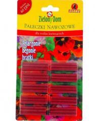 Pałeczki nawozowe dla roślin balkonowych z