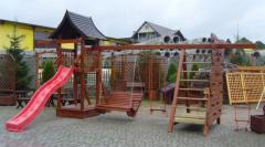 Dziecięce meble ogrodowe, bezpieczne dla dzieci z wysokiej jakości drewna