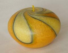 Świeca Elipsa 370 żółty