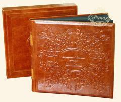 Articles made of leather