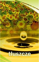 Oleje roślinne: słonecznikowy, rzepakowy palmowy,