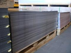 Aluminium profiled sheeting