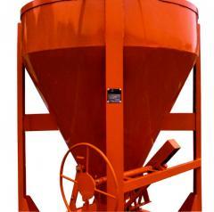 Pojemnik do transportu masy betonowej