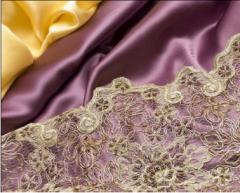 Tkaniny jedwabne do wyrobu odzieży