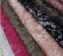 Koronki do produkcji odzieży i dekoracyjne