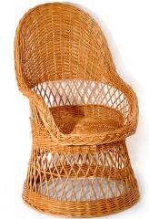 Krzesła z wikliny