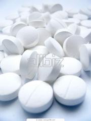 Salt pelletized