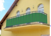 Osłony na balkon