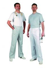 Spodnie męskie klasyczne