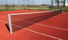 Słupki stalowe do siatkówki, tenisa