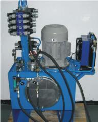 Dwuciśnieniowy agregat hydrauliczny