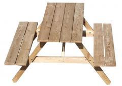 Stół  ogrodowy biesiadny COMPACT