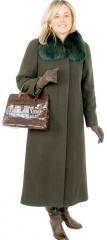 Płaszcz damski Ania zimowy