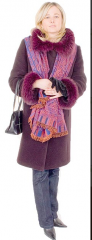 Płaszcz damski zimowy ciepły
