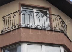 Balustrady do balkonu prywatnego