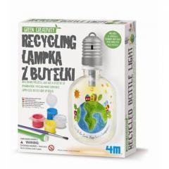 Green creativity - Recykling Lampka z butelki