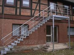 Metal ladders for home