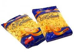 Makarony z mąki makaronowej