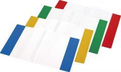 Okładka na zeszyt przezroczysta PVC a kolorowymi