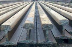 Scrap metal of railways