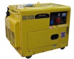 Agregat 5,5kW cichy 230/400V