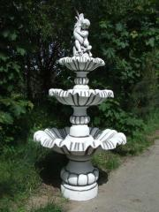 Concrete fountains