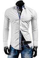Koszula męska na długi rękaw ARCO BALENO 2774 - BIAŁY