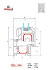 Okna PCV profil 5 komorowy Ideal 4000