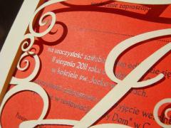 Zaproszenie ślubne z kolekcji Ślubny Monogram