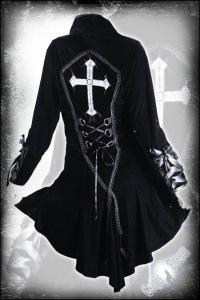 Plaszcz Satanic Ladies Jacket