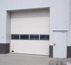 Industrial sectional gates