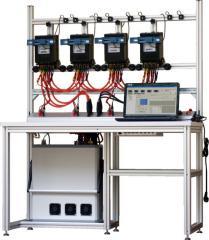 TB40 Trójfazowa 4- stanowiskowa stacjonarna stacja wzorcownicza do testowania liczników energii