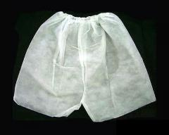 Boxers made of stretch mesh disposable