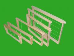 Ramki zbite z drutem